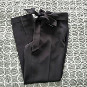 Karl Lagerfeld Black Pants with Belt Size 6